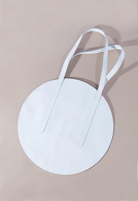 HOPP Circle Bag - White