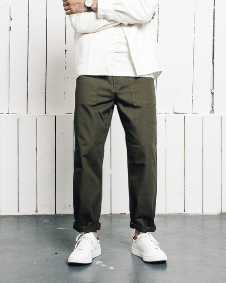 Universal Works Fatigue Pant - Military Olive