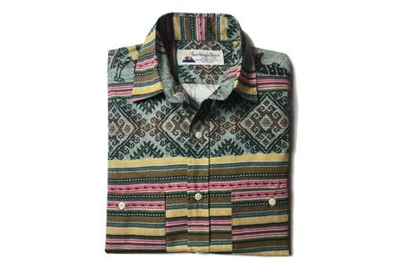 SANTIAGO SHIRT CO. Alpaca Print