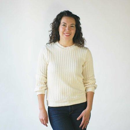 Curator Frances Sweater in Ecru