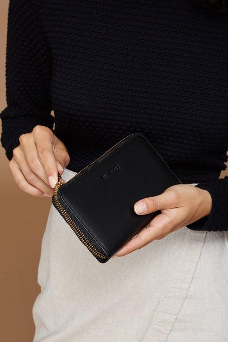 The Stowe Zip Wallet - Black