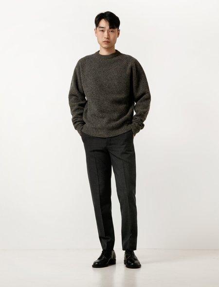Lemaire Mens Suit Pants - Slate