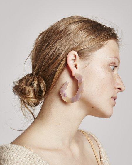 Rachel Comey Factor Earrings In Mauve