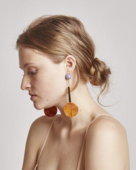 Rachel Comey Jo Earrings in Orange