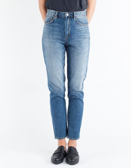 Neuw Lola Super High Mom Jean in Clover