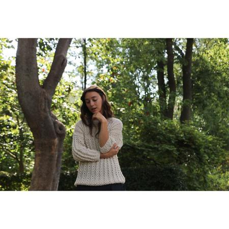 Erica Tanov Cable Stitch Sweater