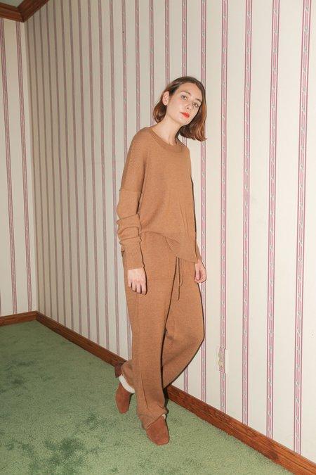 Lauren Manoogian Straight Pants in Camel