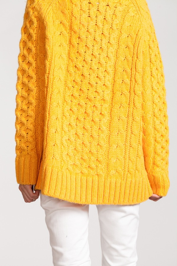 Apiece Apart Fisherman Sweater | marigold