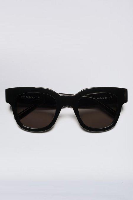 Sun Buddies Acetate Liv Sunglasses - Black