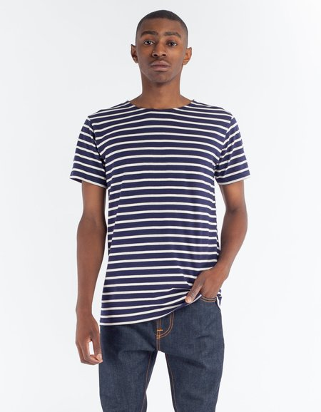 Armor Lux Sailor Shirt SS in Navy Nature