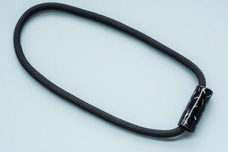 YYY Confetti Necklace - Black