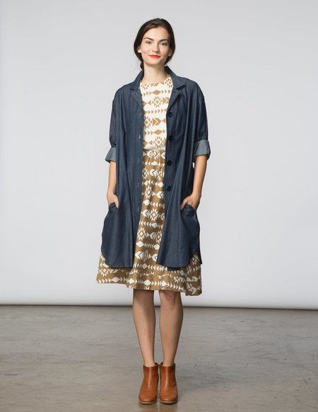 SBJ Austin Stacey Dress - Dark Denim