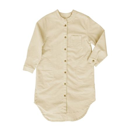 Nico Nico Vanilla Flair Cord Shirt Dress
