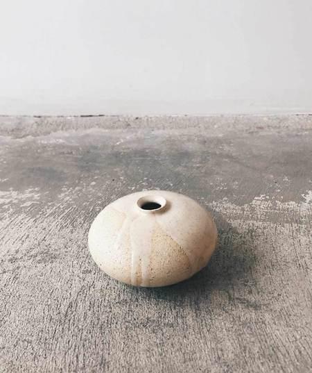 Milk + Clay Oil Bottle Vessel