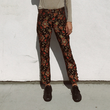 Nomia Laced Hem Pants