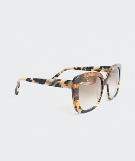 Prism Monaco Sunglasses - Amber Tortoiseshell