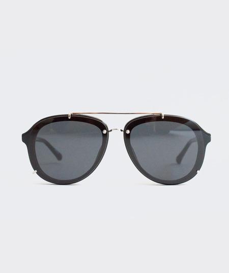 Prism Aviator Sunglasses - Black
