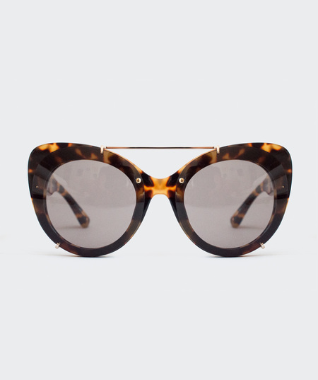 Prism Cat Eye Sunglasses - Tortoiseshell