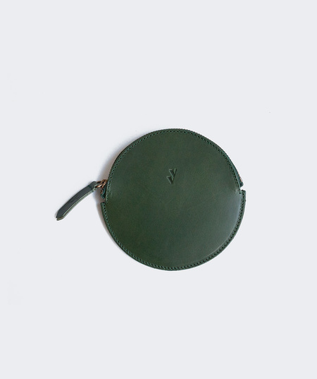 VereVerto Mon Round Coin Purse - Forest
