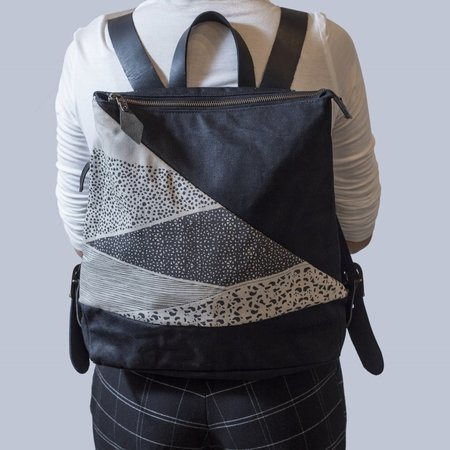 Noujica Backpack - black/cream