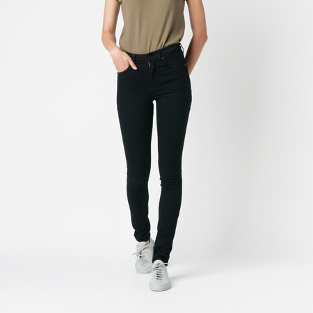 RALEIGH DENIM Haywood High Rise in Black Rinse