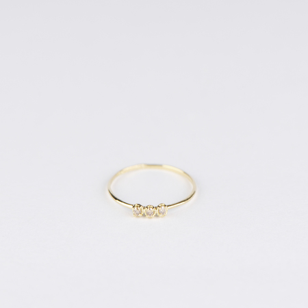 SATOMI KAWAKITA Orion Brown Diamond Ring in 18K Yellow Gold