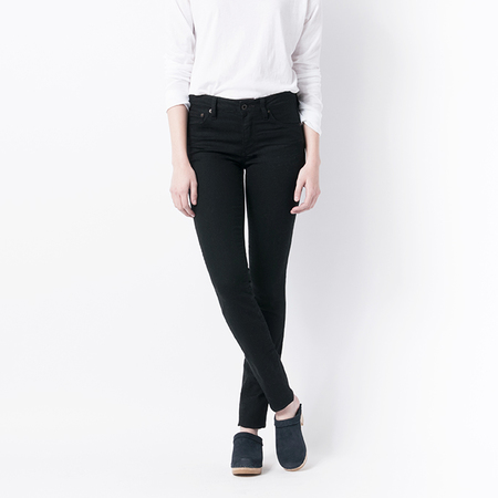 RALEIGH DENIM Surry Skinny in Rinsed Black