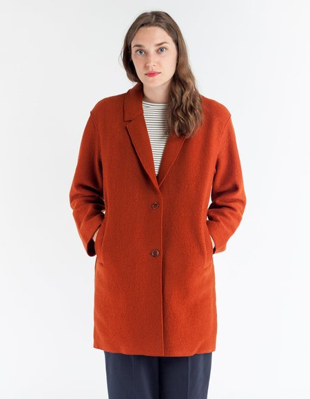 YMC Heroes Coat in Orange