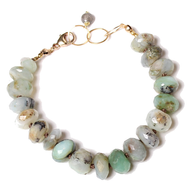 James and Jezebelle Amazonite Bracelet