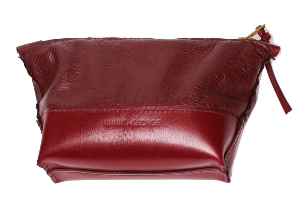 Toiletry Pouch in Wine