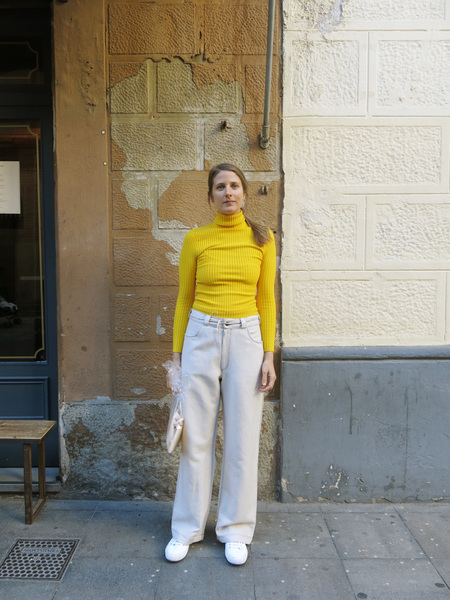 Baserange Dixon Pants Beige color