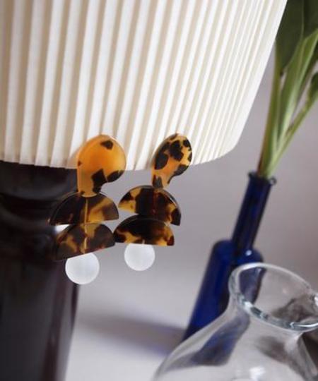St, Cat Building Turtle Earrings