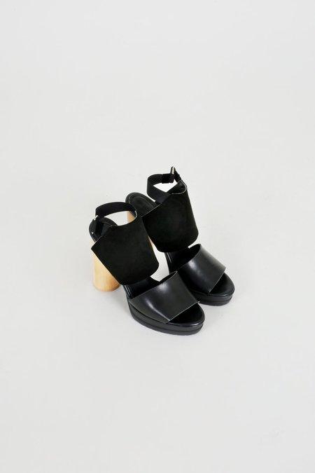 Rodebjer Moray Suede Heels - Black