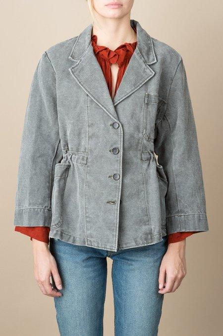 Caron Callahan Steinbeck Jacket In Stonewashed Cotton