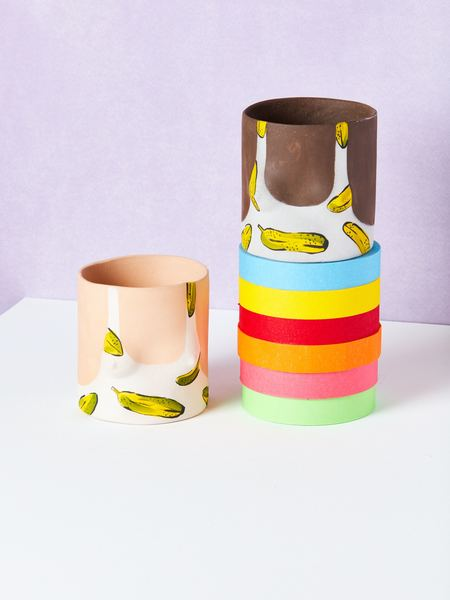 Group Partner Banana Pots