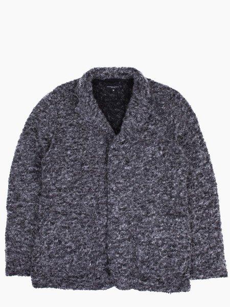 Engineered Garments Knit Blazer Grey Boucle
