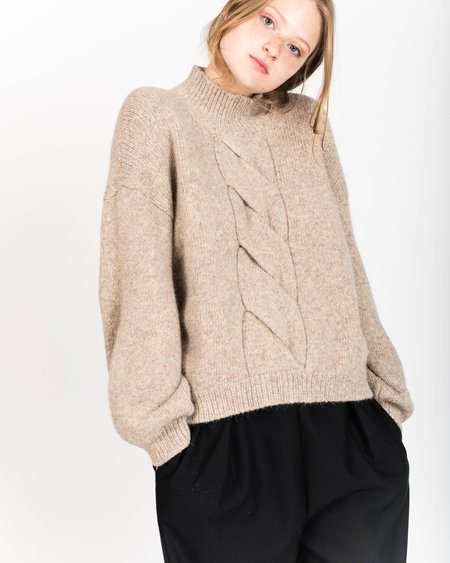 Micaela Greg Twist Cable Sweater