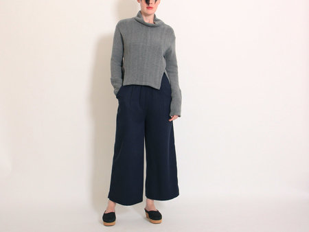 Eve Gravel Northern Soul Trousers - Navy