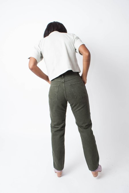 Carleen PETITE Two-Tone Jeans - Sage
