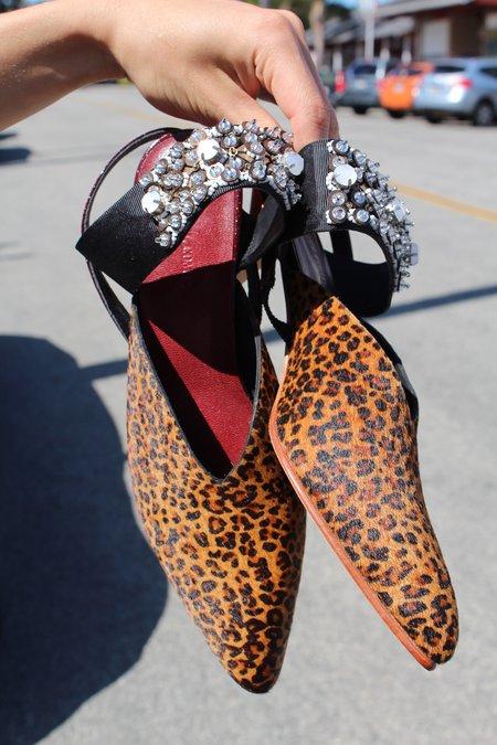 Rachel Comey Beaded Wext Leopard