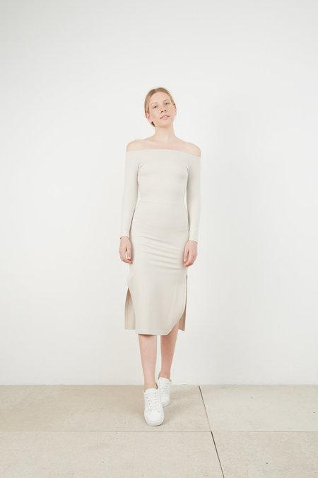 HEMSMITH MAGS OFF SHOULDER DRESS