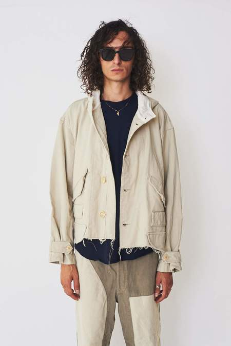 ZED Cotton Cut Off Jacket