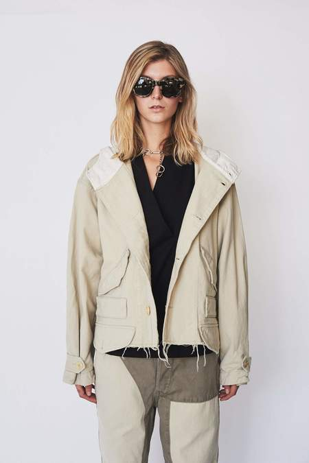 Unisex Zed Cotton Cut Off Jacket