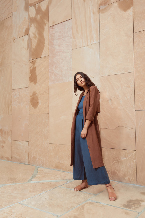 First Rite Belted Overcoat
