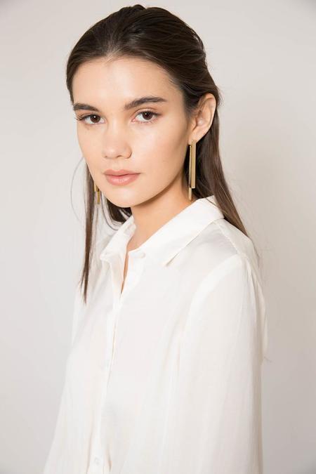 Jenny Bird Gold Kain Ear Jackets