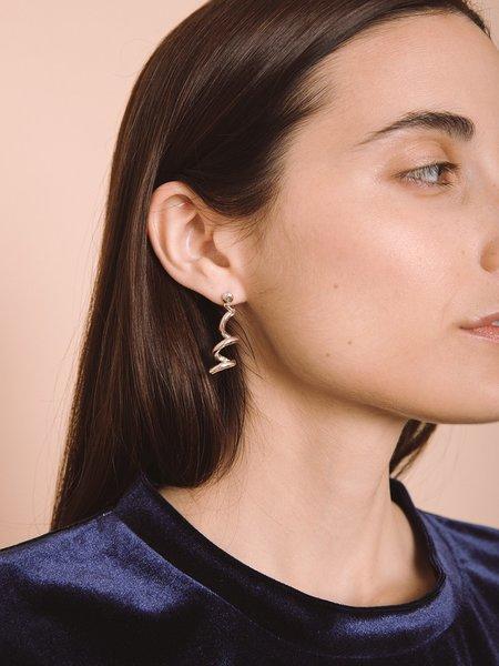 Open House Spiral Earrings