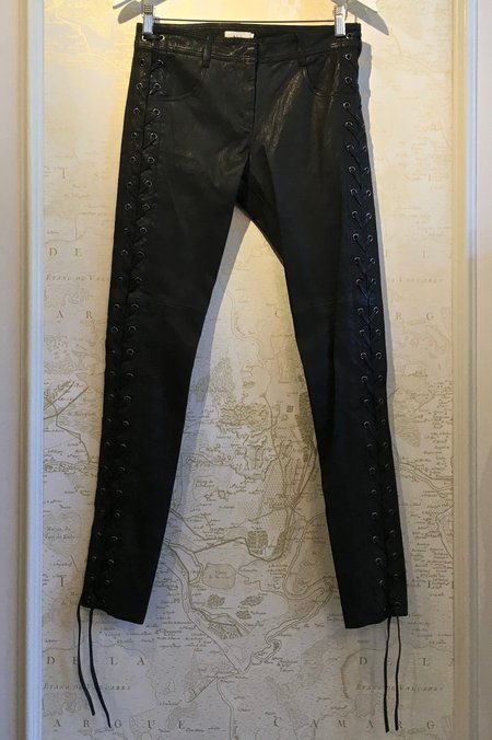 A.L.C. Dent Leather Side Lace Up Pant