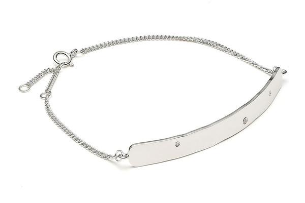 Louise Kragh Jewelry Raw Diamond Bracelet