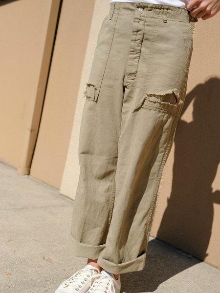 Shop Boswell Vintage Worn Green Pants