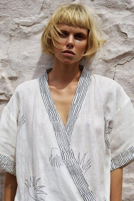 Karu Aloe Kimono Robe